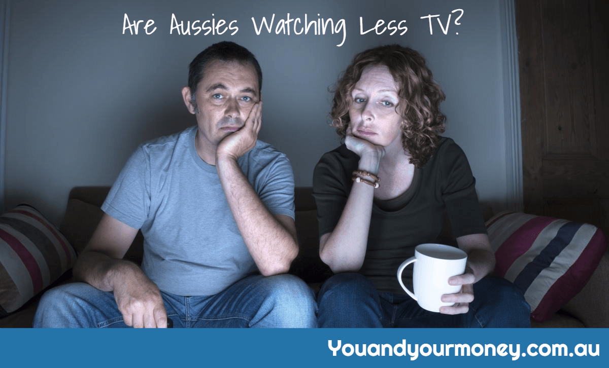 are aussies watching less TV