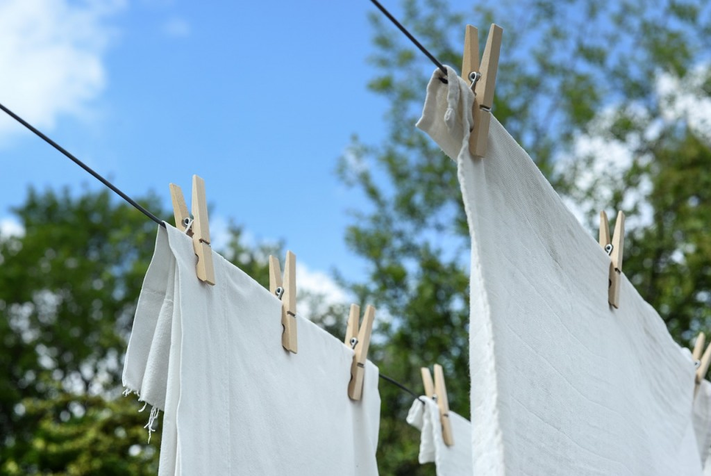 Air-dry your clothes to save money.